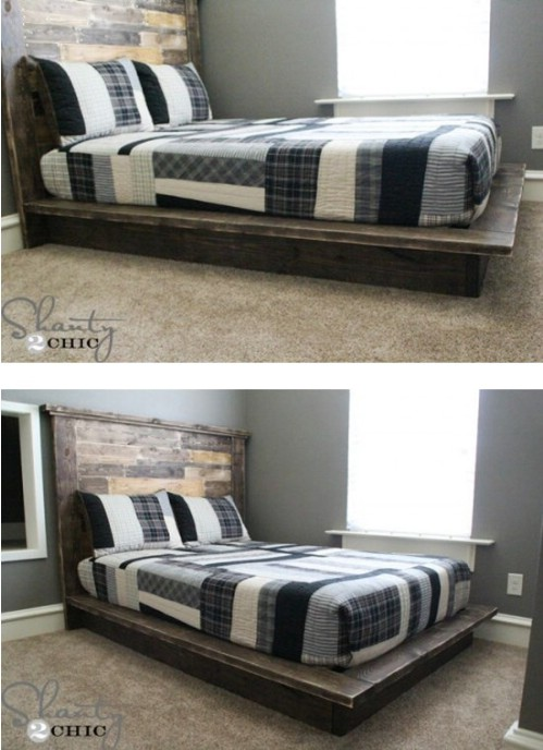 21 DIY Bed Frame Projects – Sleep in Style and Comfort ...