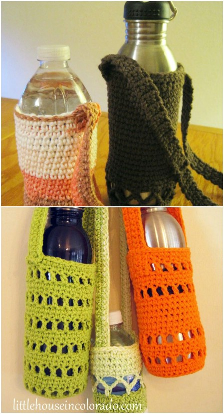 Water bottle carriers