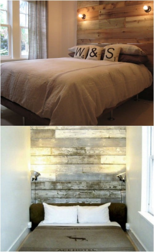 Contemporary Bed Frame With Headboard Decorating Ideas