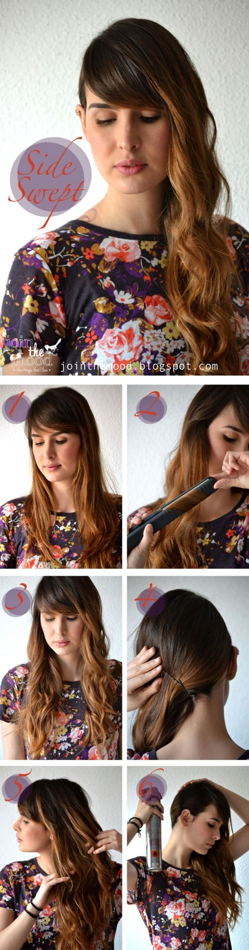 20 gorgeous 5 minute hairstyles to save you some snooze time diy swept aside solutioingenieria Choice Image