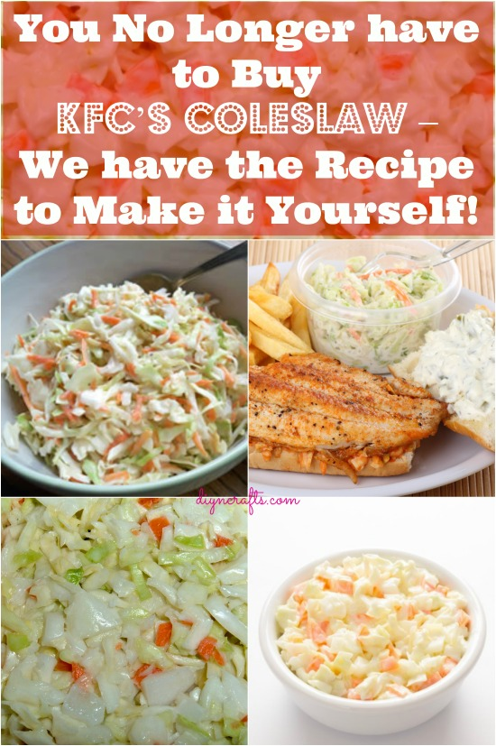 You No Longer have to Buy KFC's Coleslaw – We have the Recipe to Make it Yourself!