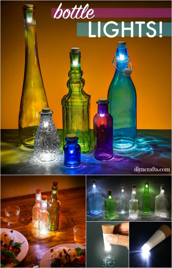 How to transform a glass bottle into a simple decorative for Creative ideas for empty wine bottles