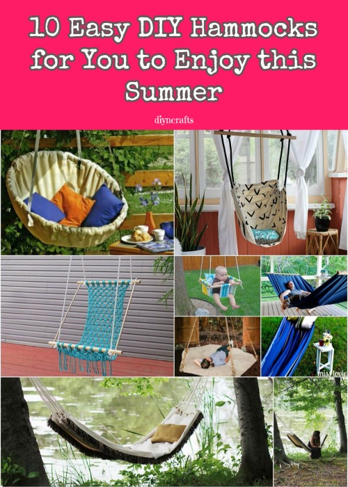 Stretch Your Legs and Get Comfy: 10 Easy DIY Hammocks for You to Enjoy this Summer