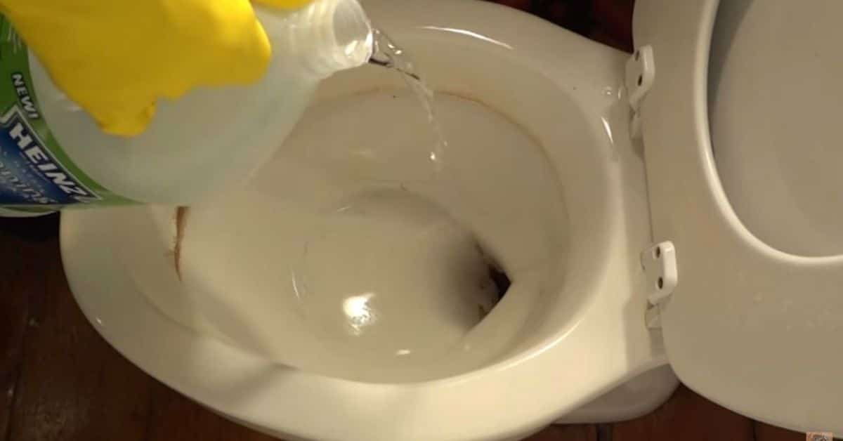 Keep It Clean How To Remove Mineral Stains From Toilet Bowl Using Vinegar Diy Crafts