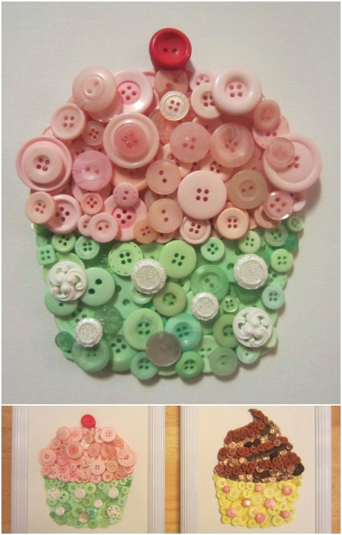 26 Innovative And Beautiful Button Crafts And Projects Diy Crafts