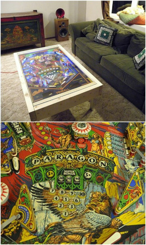 diy comic book desk. Nostalgic Pinball Table Diy Comic Book Desk O