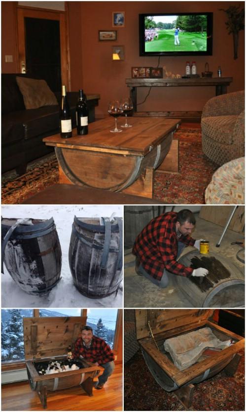 Whiskey/Wine Barrel