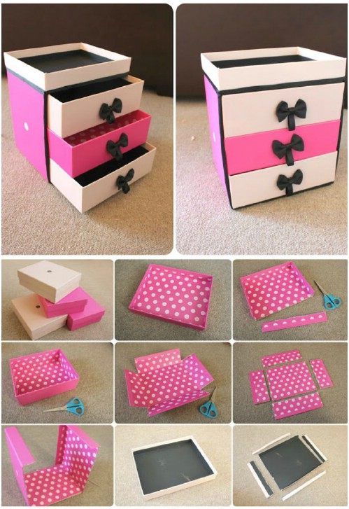 21 diy makeup organizing solutions thatll change your whole beauty beauty box drawers solutioingenieria Gallery