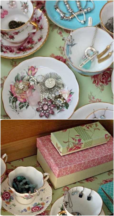 From Tea to Dcor 25 Gorgeous Projects to Upcycle Old Teacups