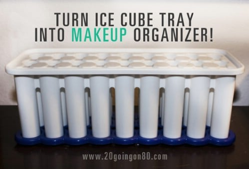 21 diy makeup organizing solutions thatll change your whole beauty i have to admit ive never seen an ice tube tray before but thankfully theyre quite easy to find online you dont really have to do much to it since solutioingenieria Gallery