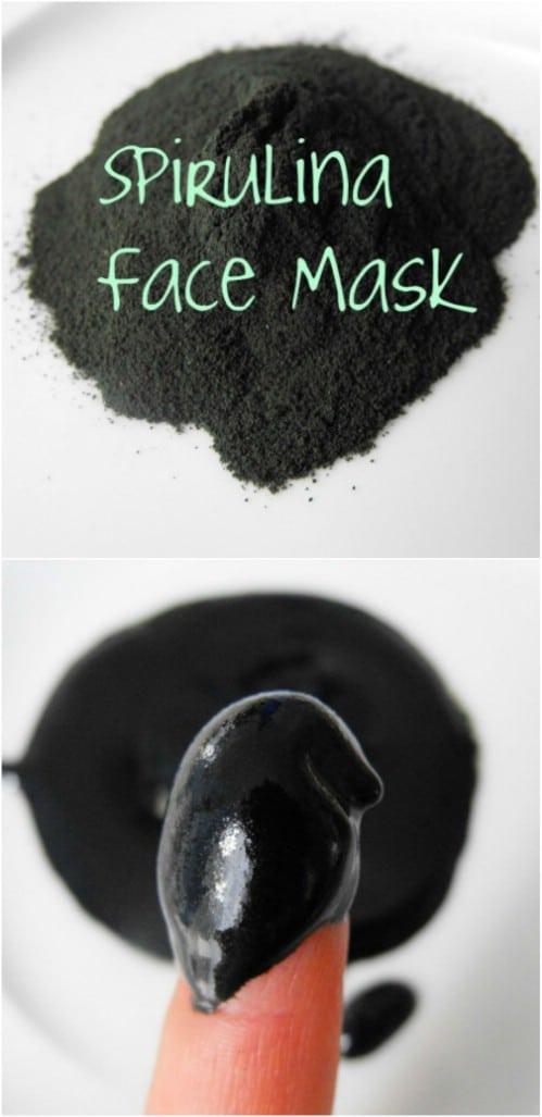 Spirulina, Castor Oil, Essential Oil