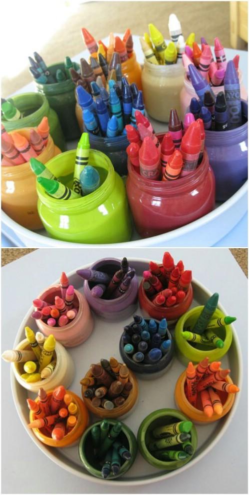 Kid's Crafts Organizer