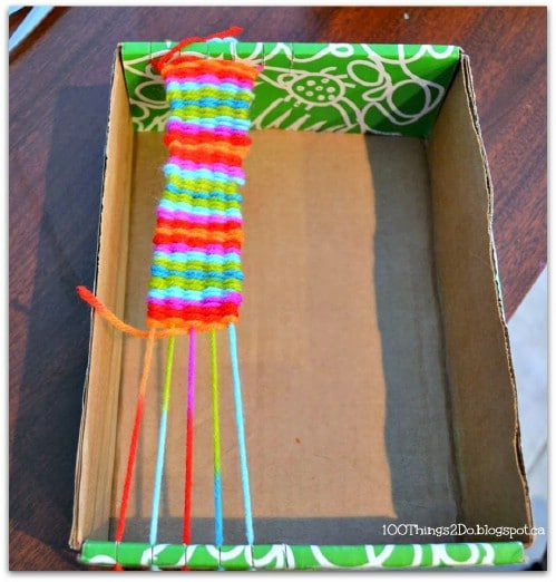 loom craft ideas 25 brilliantly crafty shoebox projects for you your home 2358