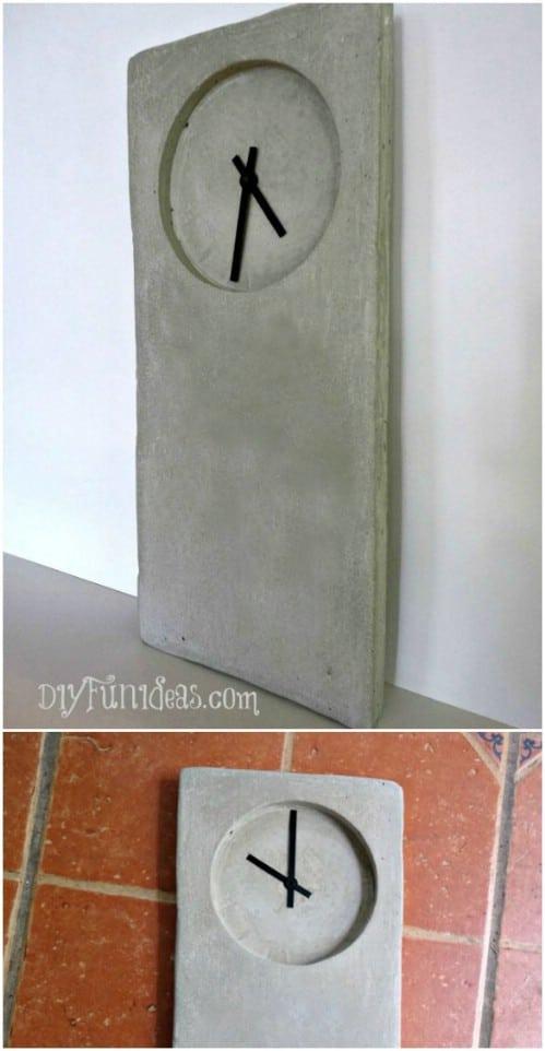 Cement Clock