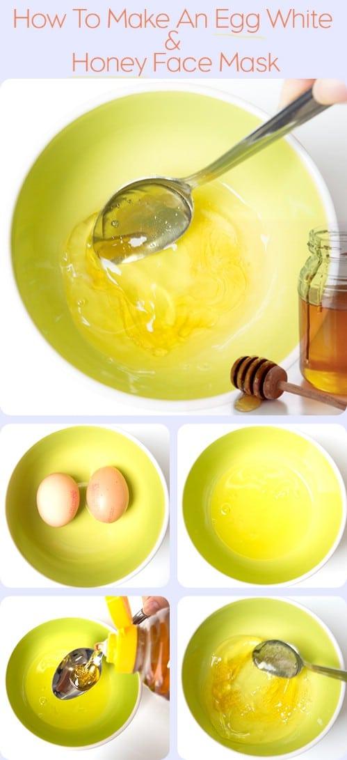 Honey, Egg White