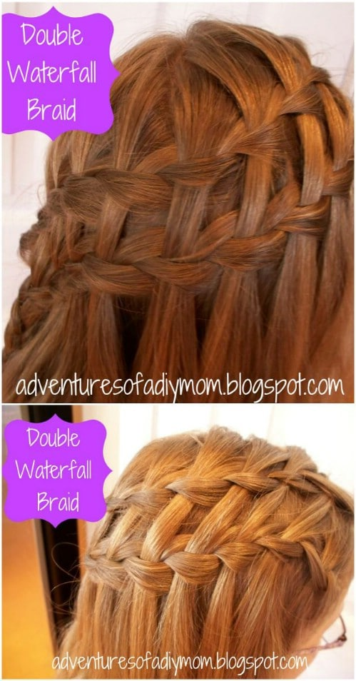 17 wonderful waterfall braid tutorials for your luscious locks diy 17 wonderful waterfall braid tutorials for your luscious locks diy crafts ccuart Images