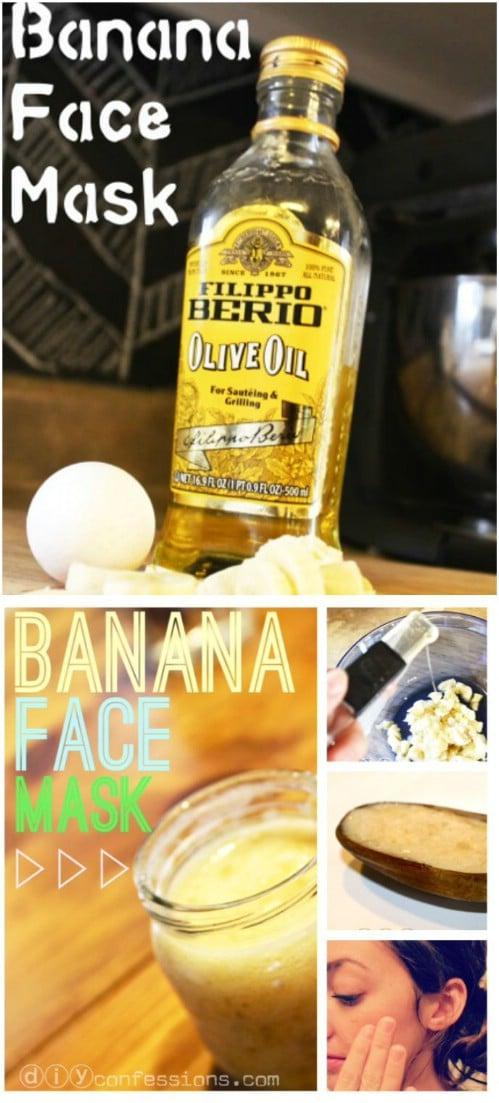 Banana, Egg Yolk, Olive Oil