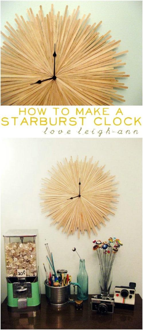 Wooden Starburst