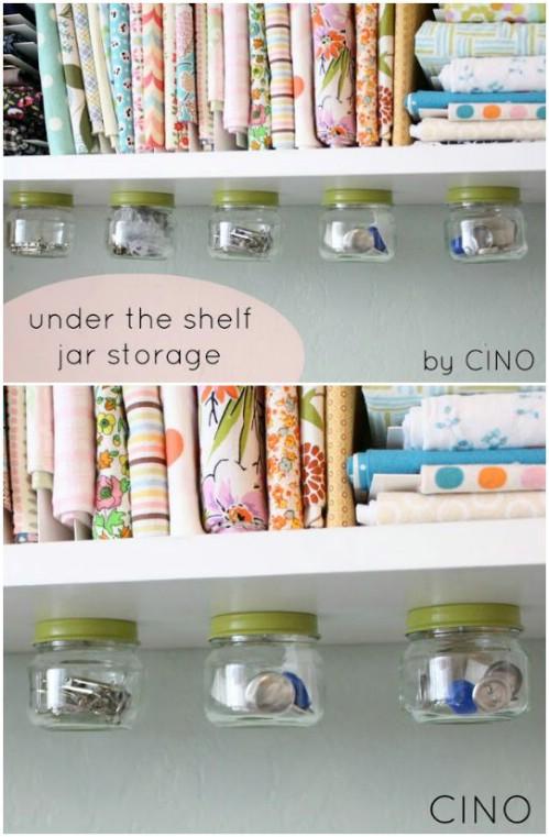 Under-the-Shelf Storage