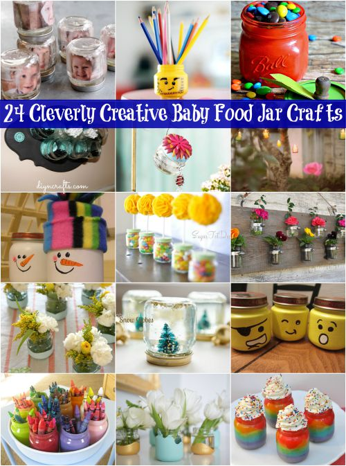Ideas For Repurposing Baby Food Jars