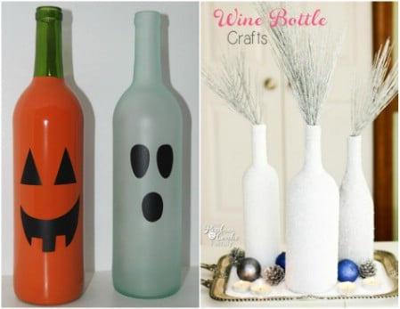 40 Epic Empty Wine Bottle Projects Don't Throw Them Out Repurpose Stunning Empty Wine Bottle Christmas Decorations