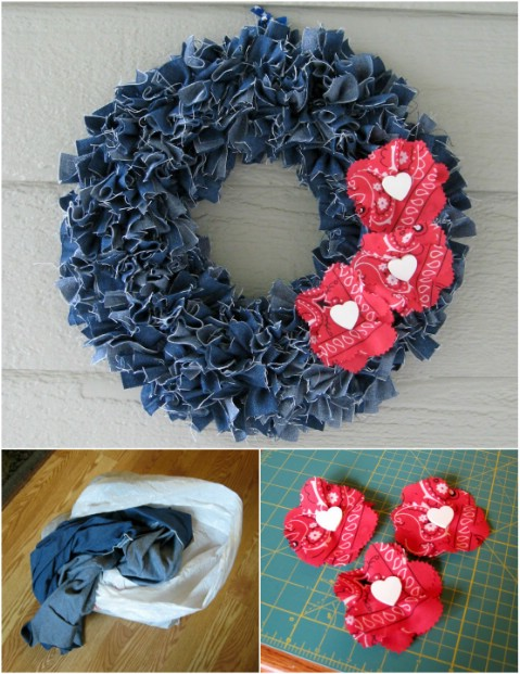 40 incredible repurposing projects for old jeans that you for Denim craft projects