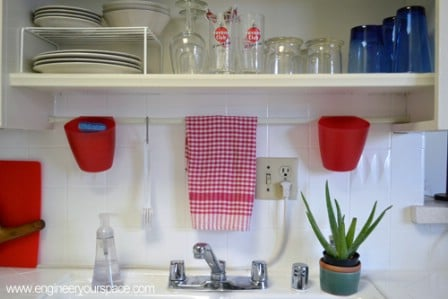 Small Kitchen Organizer