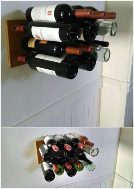 Invisible Wine Rack