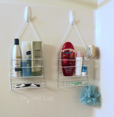 His and Hers Shower Caddies