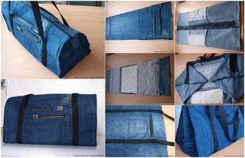 Make this amazing gym bag.