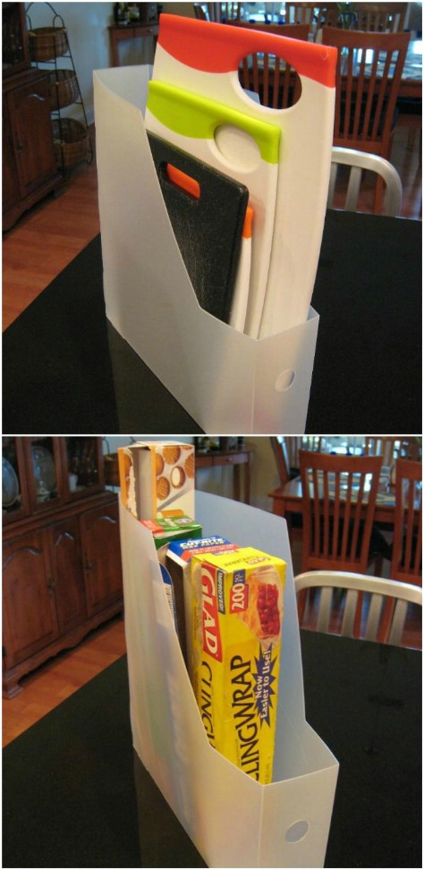 Bring out those magazine holders again!