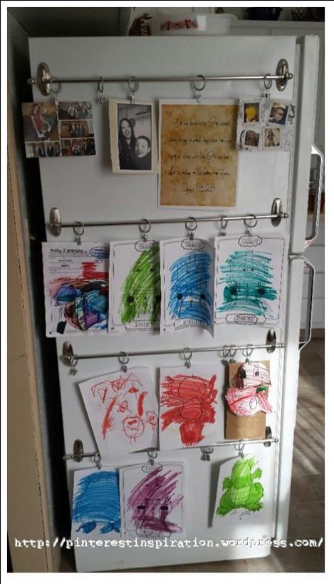Kitchen Art Display