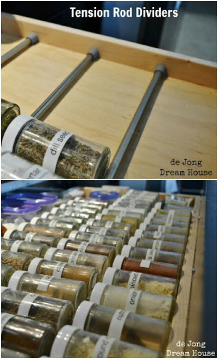 Spice Drawer Dividers