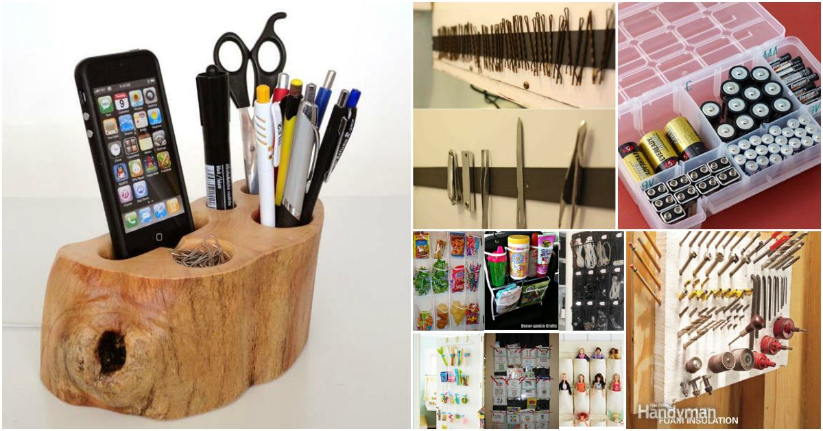85 Insanely Clever Organizing and Storage Ideas for Your Entire Home ...