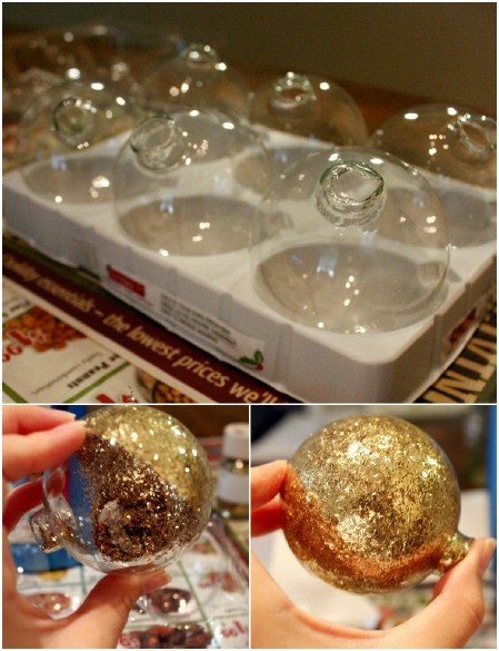 DIY Glitter Ornaments