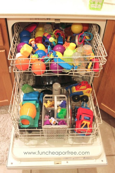 Dishwasher hack