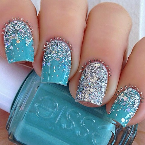 Top 100 most creative acrylic nail art designs and tutorials diy frozen nail art prinsesfo Choice Image