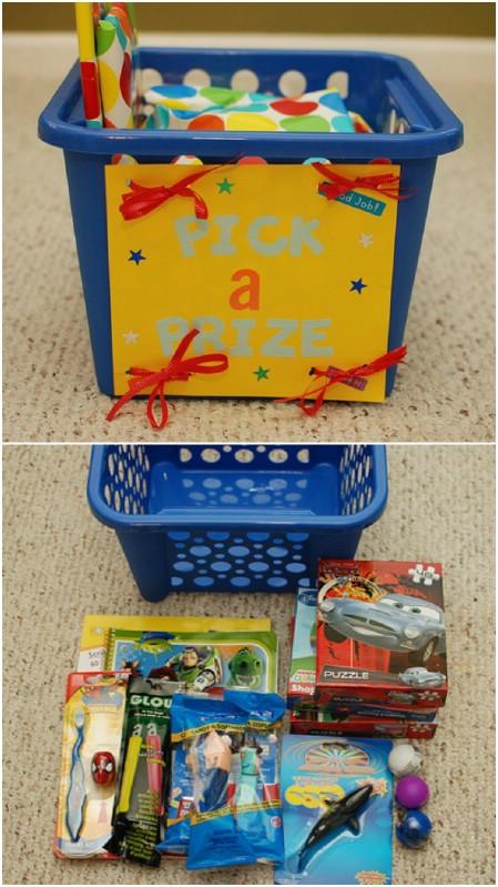 Make a Prize Box