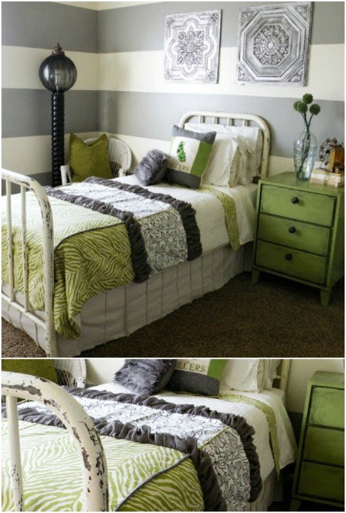 Scrap Fabric Bedding