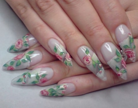Top 100 most creative acrylic nail art designs and tutorials diy dainty and feminine prinsesfo Choice Image