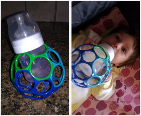 DIY Baby Bottle Holder