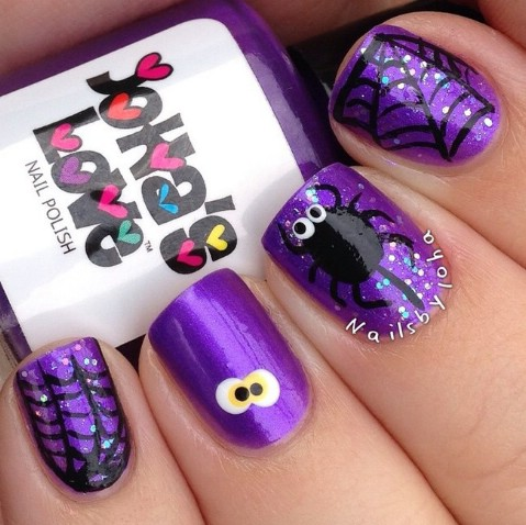 Adorable Halloween nails