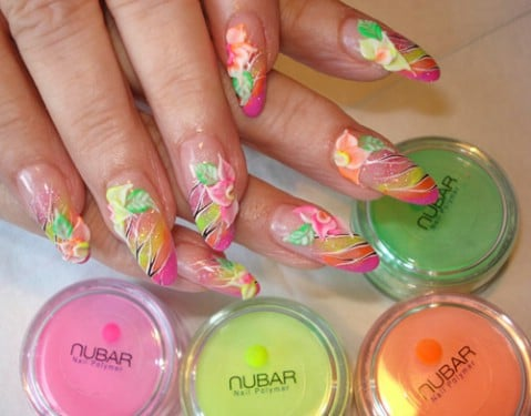 Top 100 Most-Creative Acrylic Nail Art Designs and Tutorials - Page ...