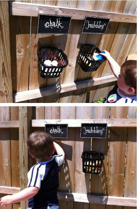 Outdoor Activity Storage Baskets