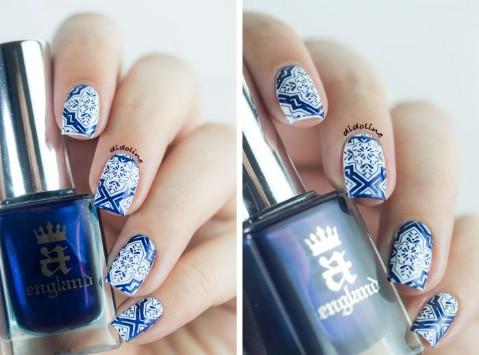 Oriental tile nails