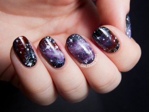 Pelican Nebula Nails