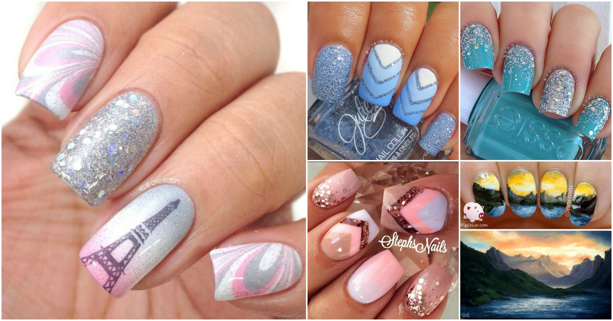 Top 100 most creative acrylic nail art designs and for Acrylic nail decoration