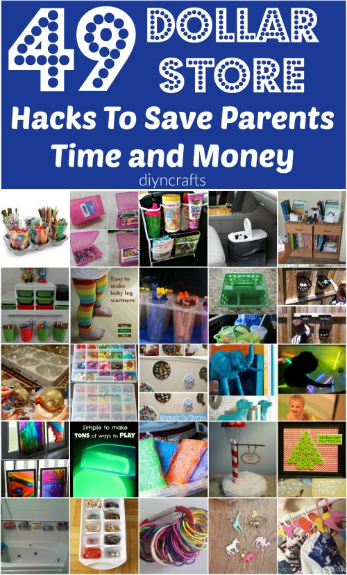 dollar store decorating hacks 49 amazing dollar hacks to save parents time and 10802