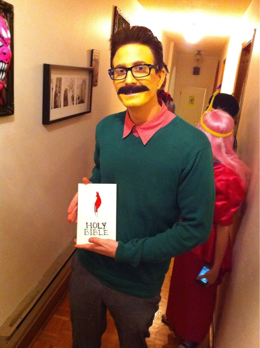 31 howling diy adult halloween costumes guaranteed to win you this flanders solutioingenieria Gallery