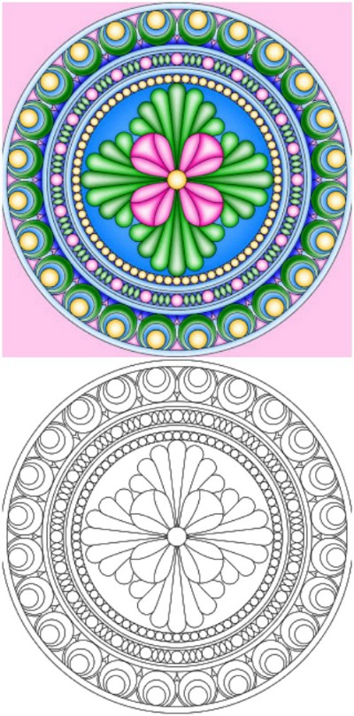 Architecture Adult Coloring Pages